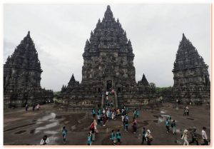 Prambanan Temple is the largest Hindu temple complex in Indonesia.