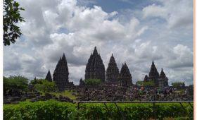 The Beautiful of Prambanan Temple also known as Candi Rara Jonggrang