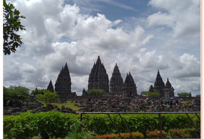 The Beautiful of Prambanan Temple also known as Candi Rara Jonggrang