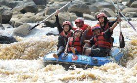 Challenge Lower Progo Rafting