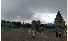 Dieng Plateau, Indonesia located in central Java is well worth a visit
