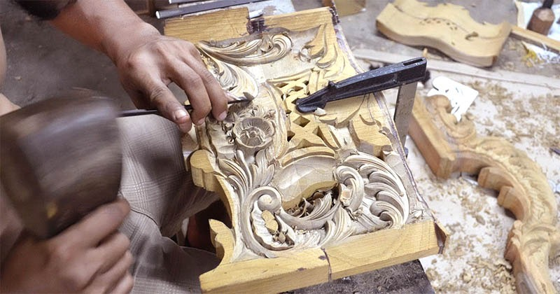 Jepara Java's legendary woodcarving and furniture center
