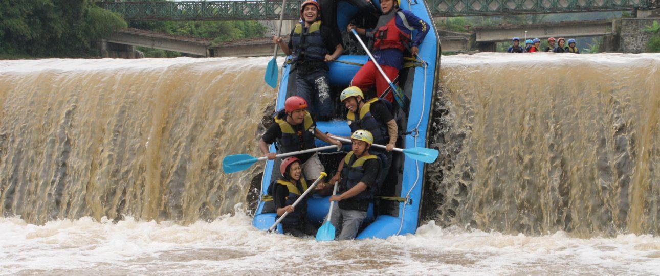 Lovely Upper Progo River Rafting