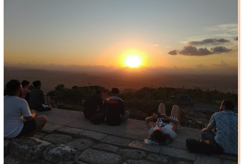 Sikunir Hill The Beautiful Golden Sunrise