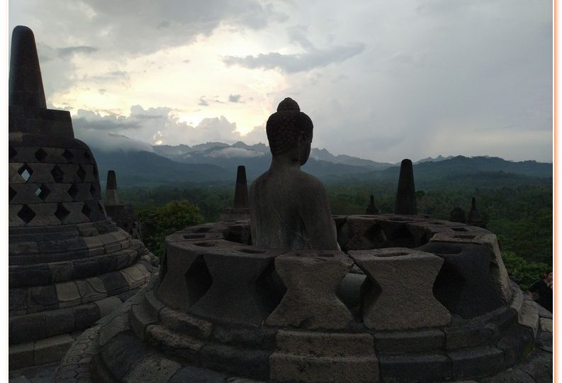 The magnificent Borobudur temple is the world's biggest Buddhist monument