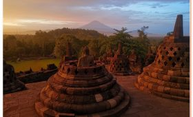 the magnificent Borobudur temple is the world's ... site widely considered to be one of the world's seven wonders.