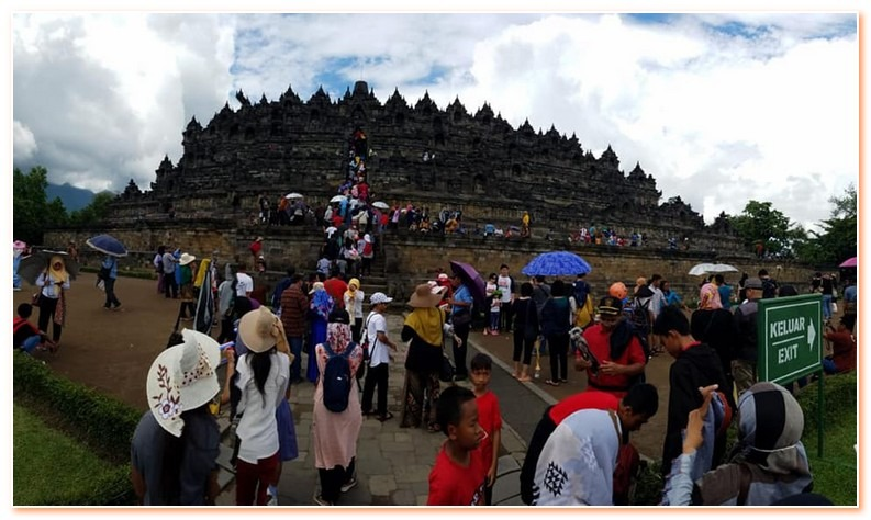 Angkor and Borobudur is a UNESCO world heritage site in Southeast Asia.