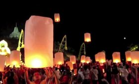 Borobudur Temple Waisak Lantern Festival