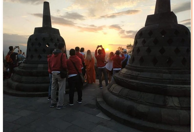 Eye opening experience at Borobudur Temple