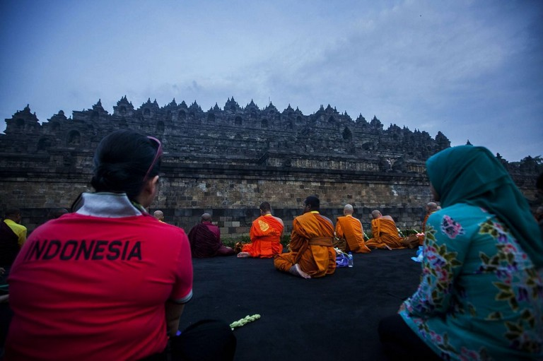 Spiritual Wonderful Borobudur Temple