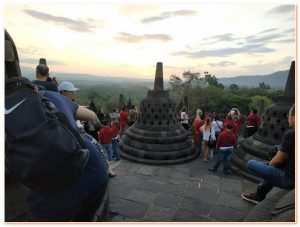 Half day Borobudur Sunrise or sunset is one of the most beautiful sunrises or sunset in your entire life! So beautiful, experience should never be missed !