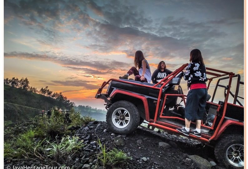 Jeep Lava Tour Merapi Off Road Experience in Mount Merapi