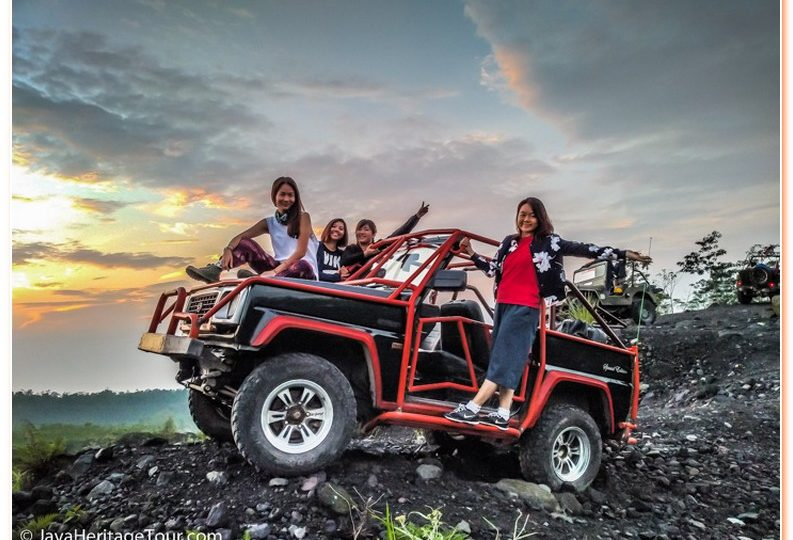 Jeep Lava Tour Merapi Amazing
