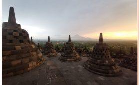 Everyone should experience a Borobudur sunrise
