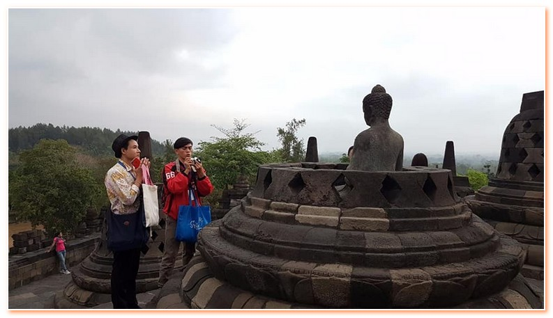 Borobudur Temple tour itinerary is flexible tour program.