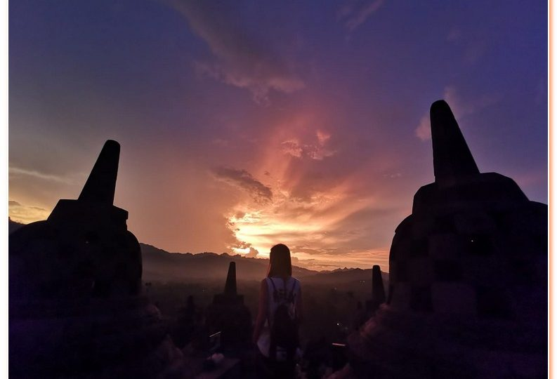 Borobodur Sunrise is one of the best sunrise in Central Java, Yogyakarta.