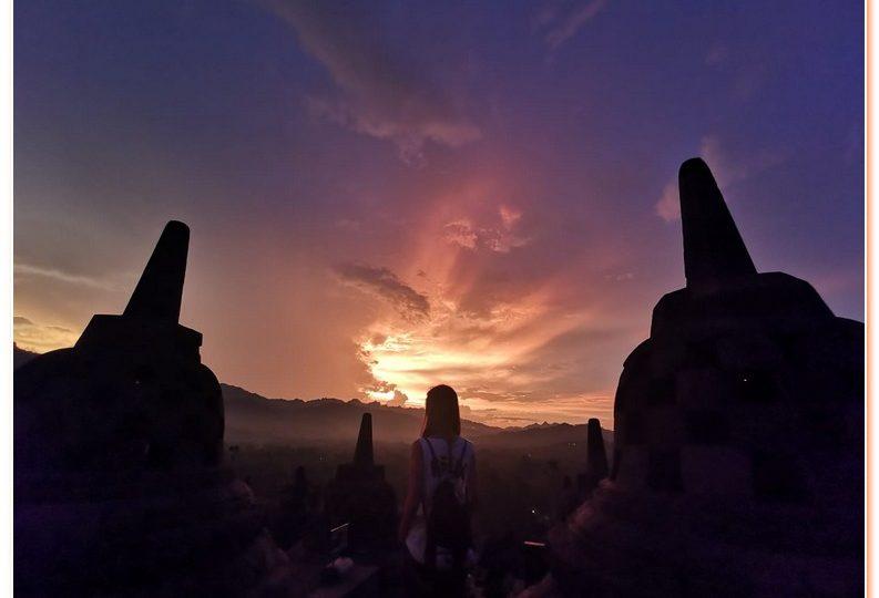 Borobodur Sunrise is one of the best sunrise in Central Java, Yogyakarta.