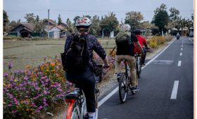 The heritage cycling activity is a set of interesting scenery about ancient sites