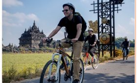 Prambanan cycling tour is heritage cycling trip through many places of cultural heritage sites
