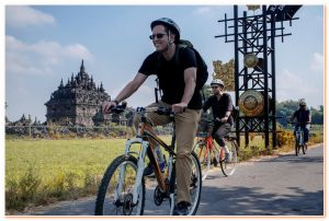 Cycling Head to Prambanan is heritage cycling trip through many places of cultural heritage sites