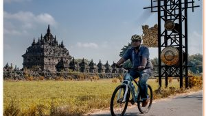 Prambanan Cycling Tour exploring the most beautiful hindu temple