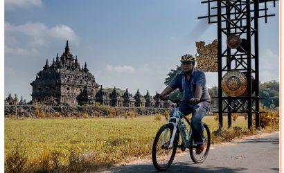 Prambanan Cycling Tour exploring the most beautiful hindu temple
